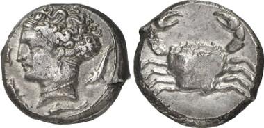 Motya. Tetradrachme, 415-397. Aus Auktion Gorny & Mosch 203 (2012), 49.