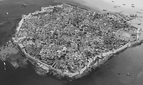 Fortification Motya. Source: Selinous, Aldo Ferruggia / Wikipedia, CC BY-SA 3.0.