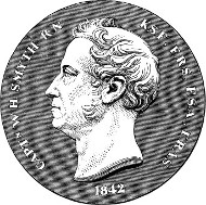 Medaille auf William Henry Smyth. Quelle: Wikipedia.