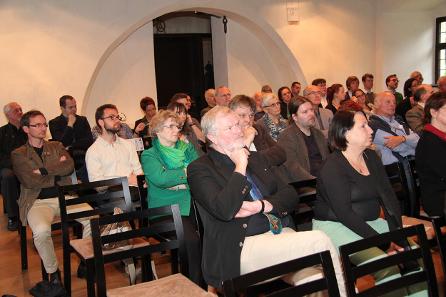 Das Auditorium beim Eröffnungsvortrag.