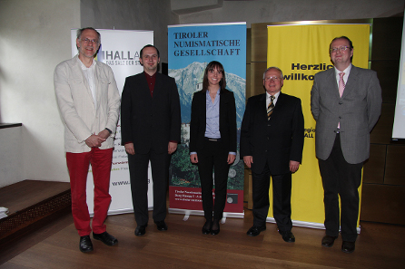 v.l.: Emmerig, Herrmann, Pfennig, Strobel, Mühlbacher.