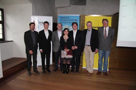 v.l.: Vondrovec, Casoli, Woytek, Grossmannova, Ulonska, Wild, Schindel.