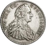 ... sowie einen Ausbeutetaler von 1753 aus Wildberger Feinsilber. Foto: Caspar/Heinz W. Müller.