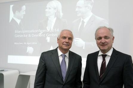 Dr. Walter Schlebusch and Dr. Peter Zattler, CFO.