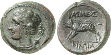 Akragas. Phintias, 287-279. From Gorny & Mosch auction sale 216 (2013), 2130.