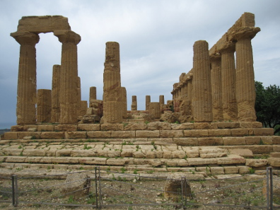 Temple of Iuno Lacinia. Photo: KW.