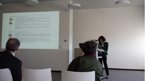Presentation of Alessia Rovelli.