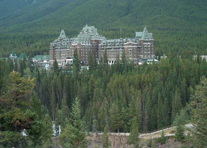 Banff Spring Hotel. Photograph: Guenter Wieschendahl / Wikicommons.