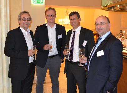 Dieter Merkle, Schuler Pressen; Alex Wegner; Heimo Steriti, Coin Invest; Pavel Trtik. Copyright Schoeller Münzhandel.