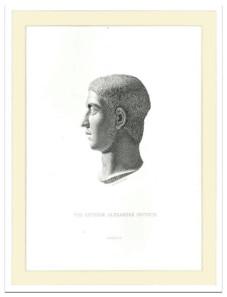 228: Gebbie & Co. Alexander Severus. 1880s. Steel plate engraving. Estimate: $25.