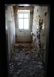 Ein kleiner Raum unter dem Dach. Foto: Angela Graff.