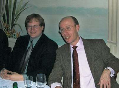 Münzhändler in den 80ern: Rob Freeman und Eric McFadden.