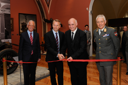 The official inauguration. Photograph: HBF / Gunter Pusch.