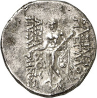 166: Mithradates I, 164-132 (Parthians). Tetradrachm, Seleucia on the Tigris, c. 141/40. Sellw. 13. 2. Shore 35. Sunrise 260. Ex Peus 363 (2000), 5104. Very rare. Extremely fine. Estimate: 3,500 euros.