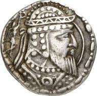 211: Artav (Choresmia). Tetradrachm, 1st cent. A. D. Sunrise 517. MIG Type 498. Ex Triton XII (2009), 415. Extremely rare. Good very fine. Estimate: 7,500 euros.