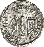 527: Postumus, 260-269. Antoninianus, Cologne, 1st half 268. AGK 65b. Elmer 560. Cunetio 2445. Very rare. Extremely fine. Estimate: 3,500 euros.