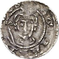 Lot 1674: MÜNSTER. Burchard von Holte (1098-1118). Pfennig, Münster. Ilisch IV, 3var. Very rare. Good very fine. Estimate: 250,- euros. Hammer price: 2,800,- euros.