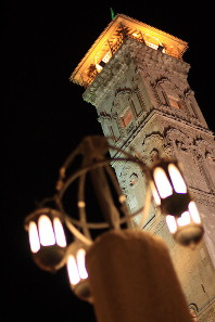 In 2010 the minaret of the Great Mosque of Aleppo looked like this. Photograph: yeowatzup / http://creativecommons.org/licenses/by/2.0/deed.de