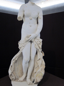 Roman copy (2nd century AD) of a Venus Pudica (2nd century BC). Photo: KW.
