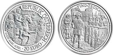 Austria. 20 Euro
