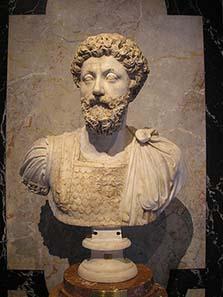 Portrait of Marcus Aurelius from the Kunsthistorisches Museum. Photo: Gryffindor / Wikipedia.