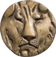Medaille auf Lafontaines Fabel Der Löwe und die Ratte, 2007. © Hubertus von Pilgrim. Fotos: Nicolai Kästner.