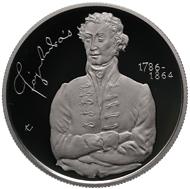 Hungary/ 5,000 HUF/ Silver .925/ 12.5 g/ 30 mm/ Designers: obv. Márta Csikai, rev. Vilmos Király/ Mintage: 5,000.