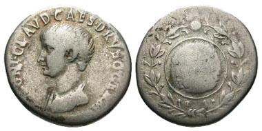 Lot 15-085: Roman Provincial. Nero as Caesar. AR cistophoric tetradrachm. Ephesus mint, A.D. 50-51. RPC 2225. Fine. Rare. Estimate: $500.