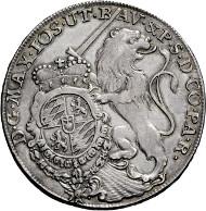 3586: Kurfürstentum Bayern. Maximilian III. Joseph. 1745-1777. Konventionstaler 1768. Taxe: 1.500.- EUR.