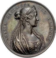 4408: Griechenland. Otto von Bayern. 1832-1862. Medaille auf die Königin Amalia. Taxe: 2.750.- EUR.