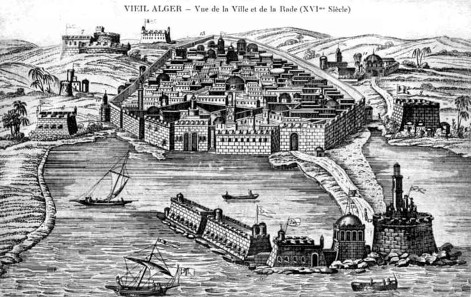 The cashbah of Algier in the 16th century. Source: Bachounda1 / http://creativecommons.org/licenses/by-sa/3.0/deed.en
