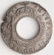 Holey Dollar, original date 1810. Photo: State Library of New South Wales.