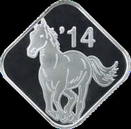 The special pure silver medal.