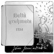 Latvia/ 5 Euro/ Silver .925/ 25.8 g/ Designer: Sandra Krastina / Mintage: 5,000.