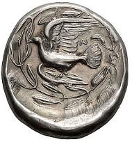 87: Peloponnesus, Sicyon; c. 360-330/20 BC, Stater, 12.20g. BCD-211 (same dies), SNG Norman Davis-207, Traité-776. Near Mint State. Estimate: $2,950.