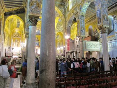 Ein Blick in die Capella Palatina. Foto: KW.