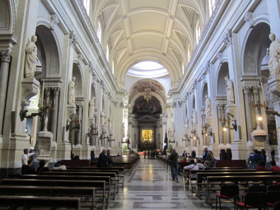 Interior of the Cathedral of Palermo. Photo: KW.