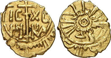 Wilhelm I., 1154-1166. Tarì d'oro o. J. Aus Auktion Gorny & Mosch 201 (2011), 5234.