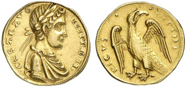 Frederick II, 1197-1250. Augustalis, after 1231, Brindisi. From Künker auction sale 239 (2013), 5297.
