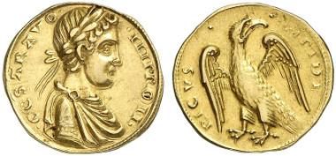 Friedrich II., 1197-1250. Augustalis nach 1231, Brindisi. Aus Auktion Künker 239 (2013), 5297.