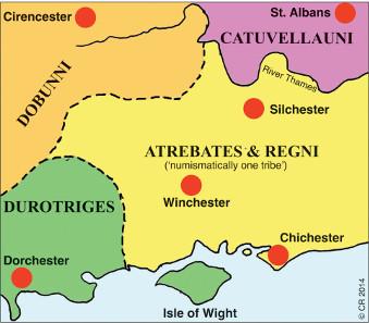 4. Van Arsdell (1989) said the Atrebates and Regni were
