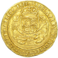HENRY VIII SOVEREIGN, 1544-7, mm. S SOUTHWARK MINT.