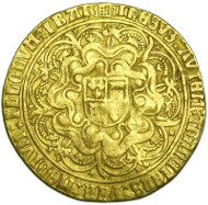 HENRY VIII SOVEREIGN, FIRST COINAGE, mm PORTCULLIS, 1509-26.