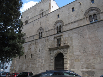 Der Palazzo Chiaramonte. Foto: KW.