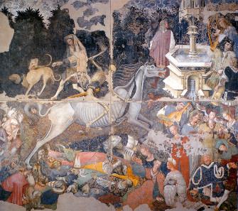 Der Triumpf des Todes, 15. Jh. Quelle: Wikipedia.