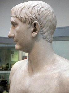 Portrait of Trajan. British Museum / London. Photo: UK.