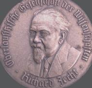 Richard Jecht-Medaille der Oberlausitzischen Gesellschaft der Wissenschaften, 1942.