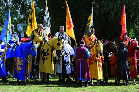 An imperial court council will be reenacted on September 25 and 26. Photo: CAB Artis Bamberg.