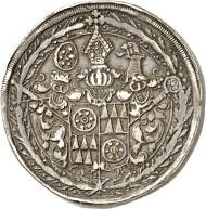 Mainz. Anselm Casimir Wamboldt von Umstadt (1629-1647). Thick triple reichsthaler 1639, Mainz. From Horn Collection, Meißen. Of great rarity. Very fine. Estimate: 20,000 euros.