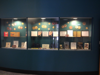 Las Vegas Numismatic Society Young Numismatist public library displays in Las Vegas.